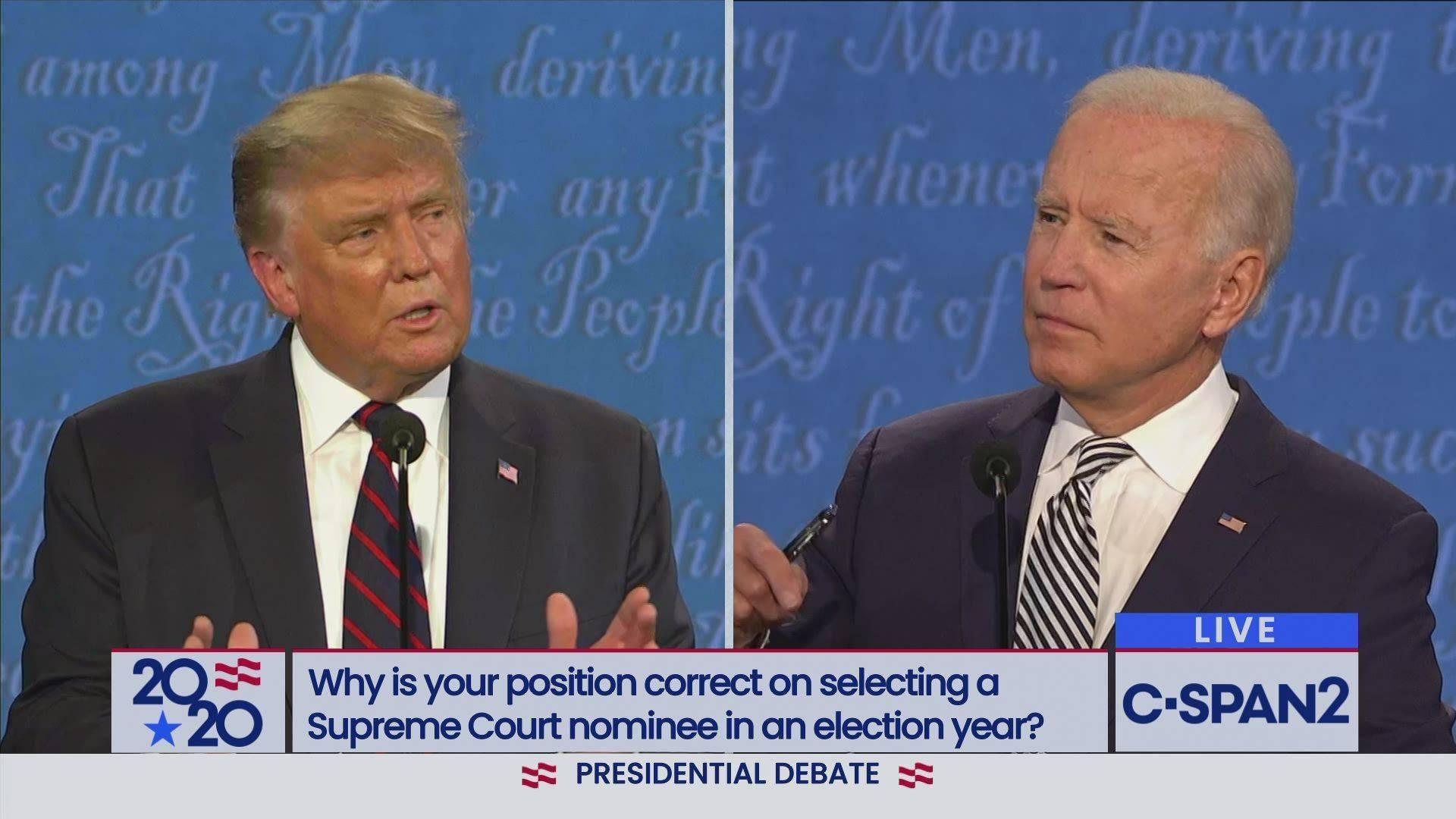 美国2020年大选第二次总统辩论将通过视频直播远程进行
