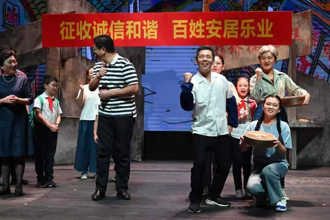 """上海颛桥老街旧改故事被搬上舞台,演员都是""""颛桥百姓"""""""