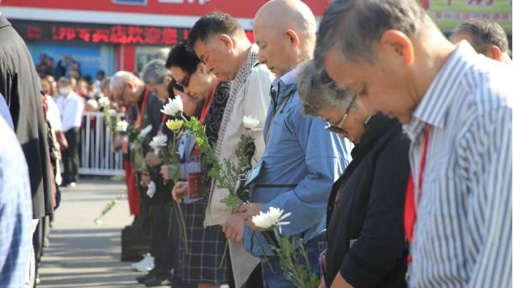 江苏泰州:纪念黄桥战役胜利80周年