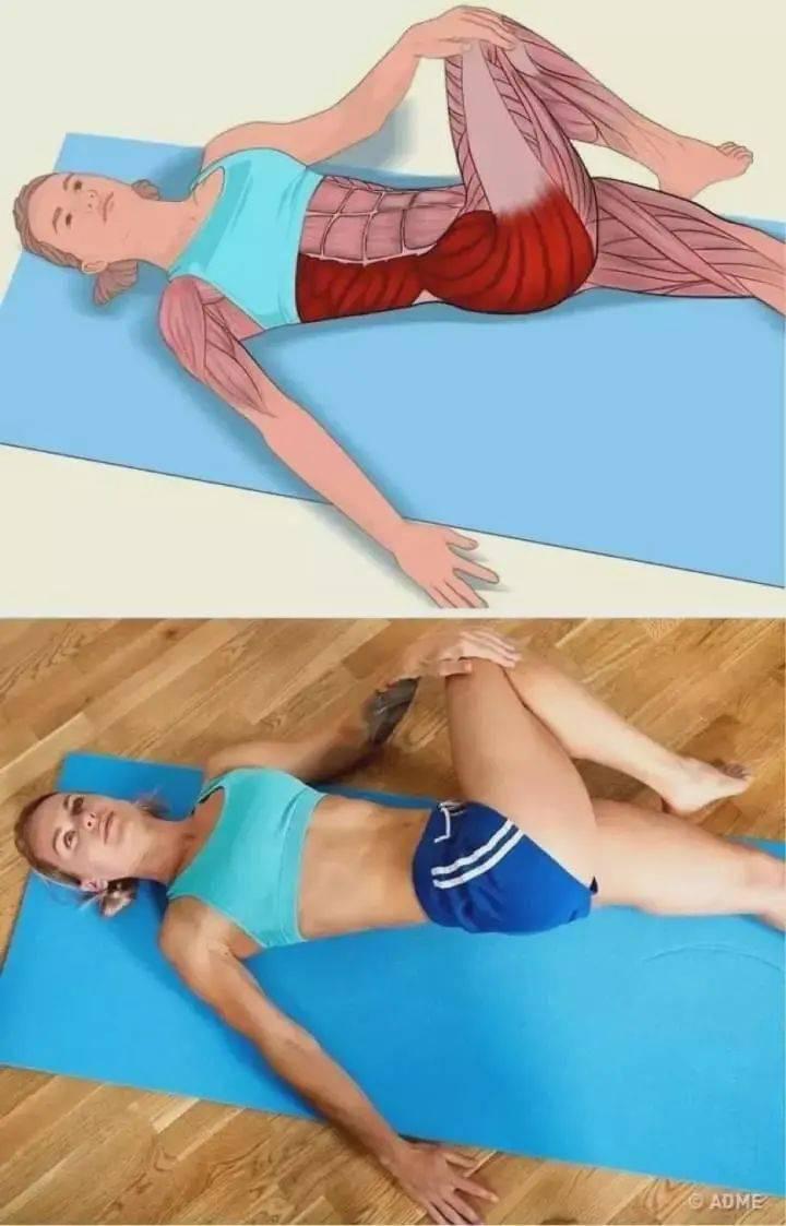 高清动图,30种臀部练习动作