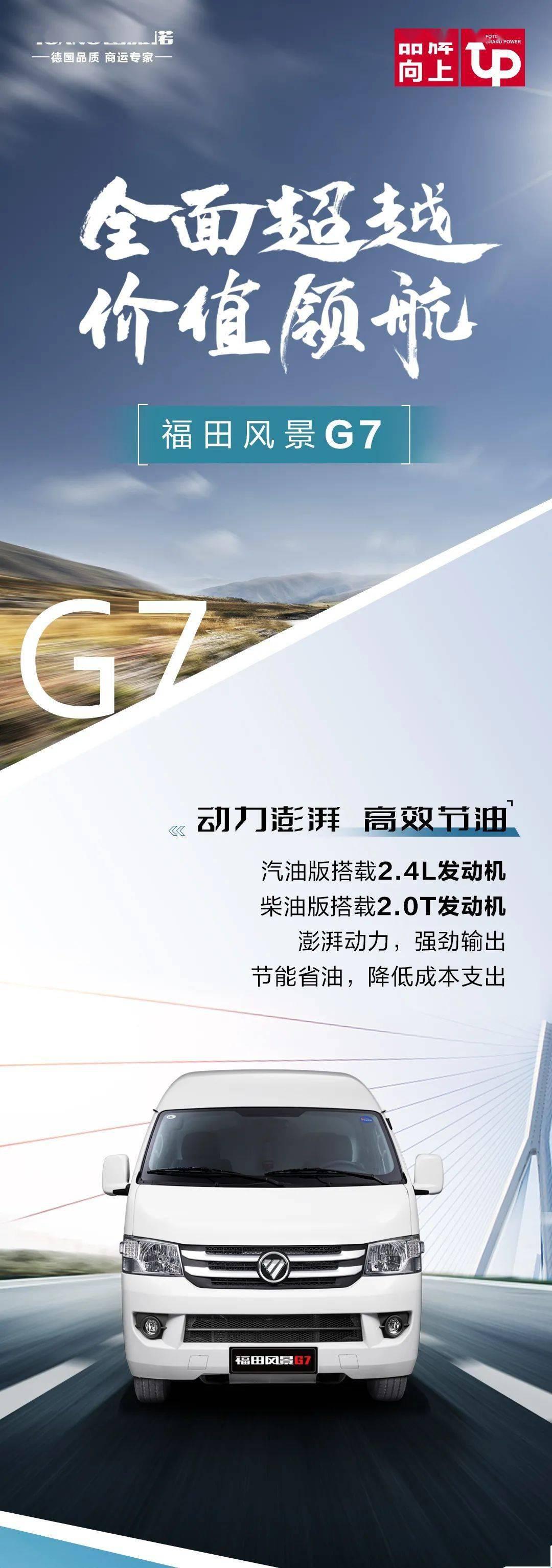 价值导航的全面超越|一张图了解福田风景G7
