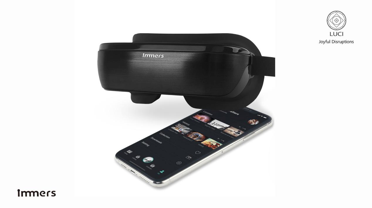 """推出超轻量级VR头显,「LUCI 露曦科技」 """"ALL IN VR"""""""