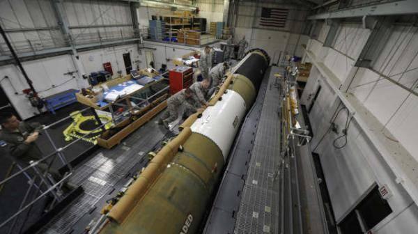 """美斥资千亿美元新建洲际核导弹,2030年取代老旧""""民兵3"""""""