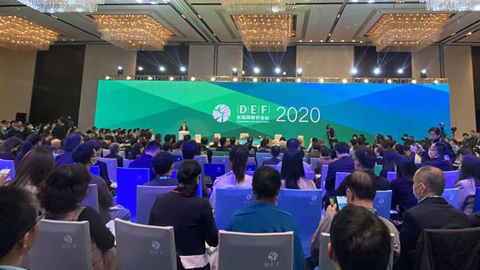 """东钱湖教育论坛主席龙永图:国际关系和中国教育都需""""连接"""""""