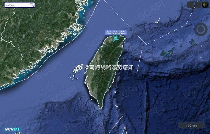 巧合?美军侦察机从台湾上空飞过 立马宣布对台大笔军售