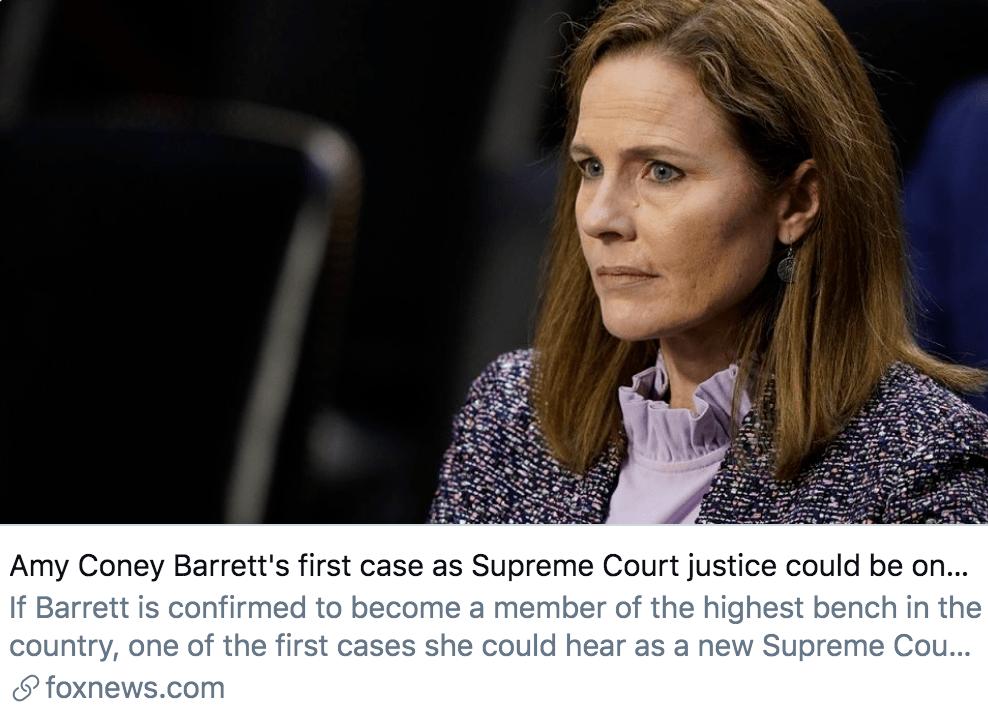 """巴雷特参议院""""闯关成功"""",距出任大法官仅一步之遥"""