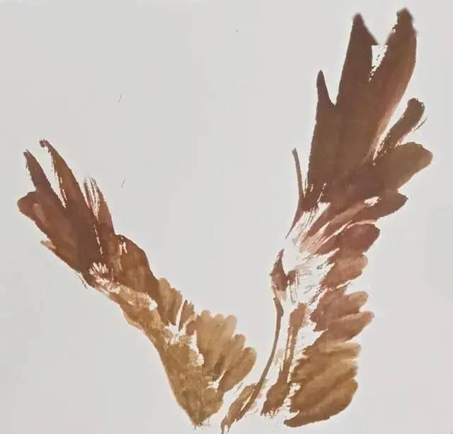 鹰的写意画法 中国画教程