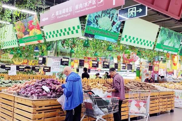 儋州市广百家超市平价保量供应,让市民选得放心、吃得安心
