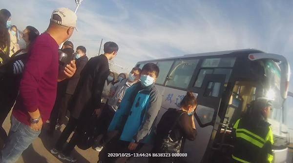 吉林省双辽市一公交车司机被罚款500元6分