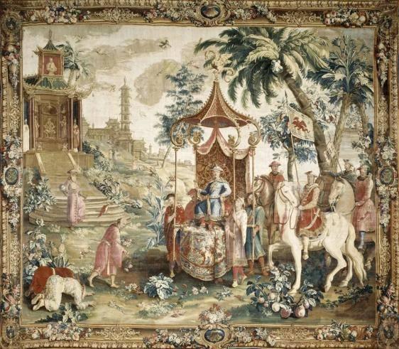 18世纪的法国,一边痴迷中国风一边瞎画中国人