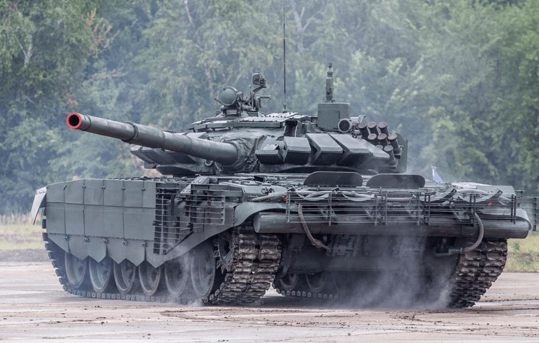 俄计划在千岛群岛部署最新版T-72坦克?可击退敌军攻岛部队