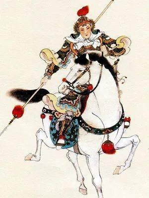 """赵子龙是《三国演义》作者罗贯中最为推崇的有胆有识的英雄,其中的""""长坂坡单骑救幼主;取桂阳行端拒美色"""",是两段最为脍炙人口的有关赵子龙的图片"""