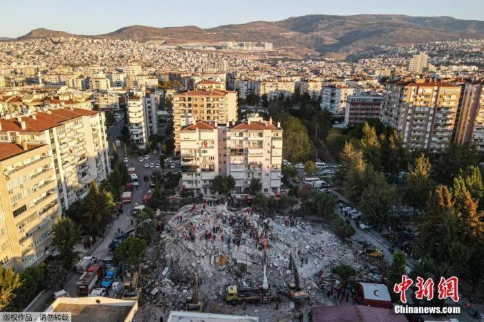 百事3首页爱琴海强震后发生上千次余震 已致土耳其73人死亡