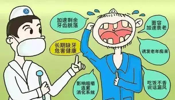 """""""缺牙""""不修复真有那么严重?看看这几点就知道了"""