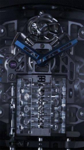 布加迪带16 缸发动机的手表,价值200万
