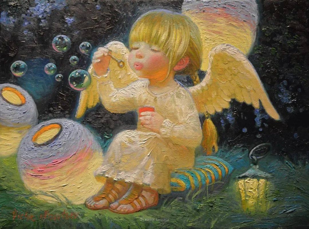 俄罗斯油画家的童话世界:愿你永远是个孩子!