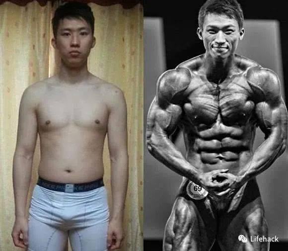 抖音网红自然健身14年,身材长这样?网友笑喷了
