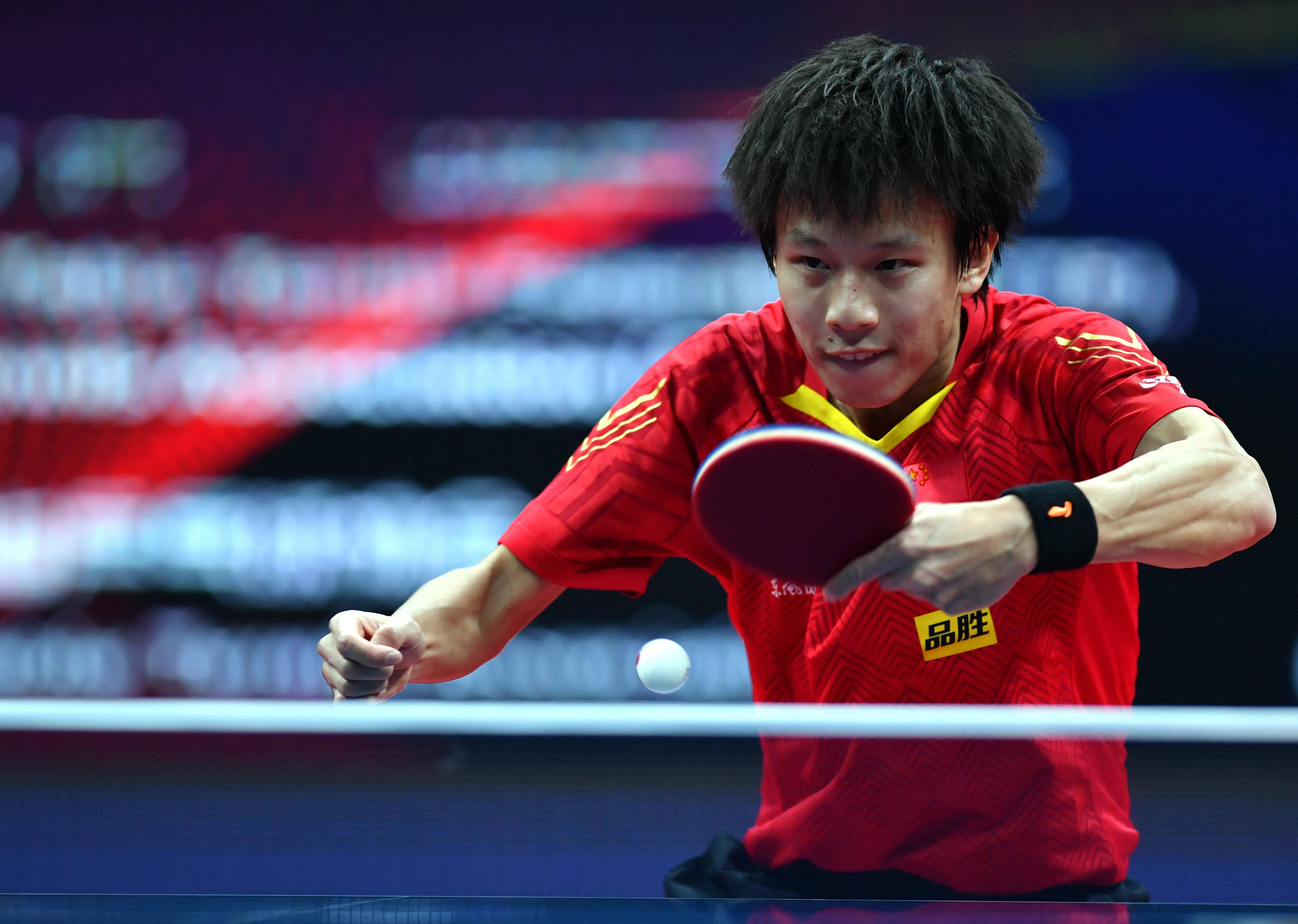 乒乓球——国际乒联总决赛:张禹珍晋级四强