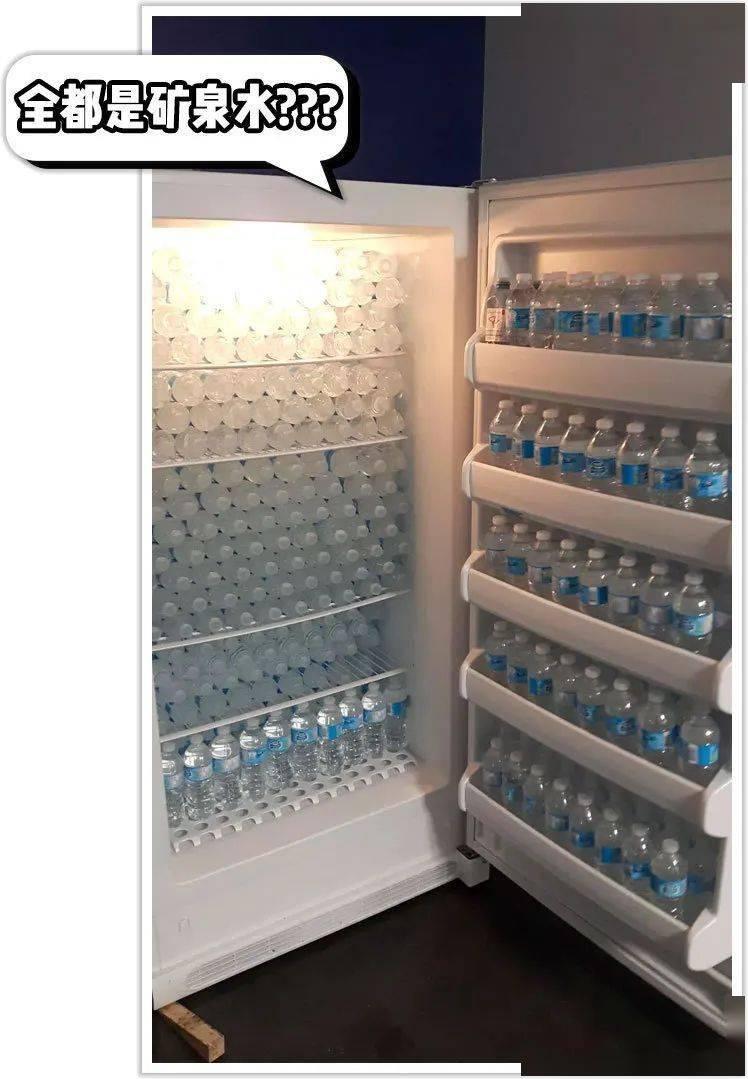 明星的冰箱真让人大!开!眼!界!