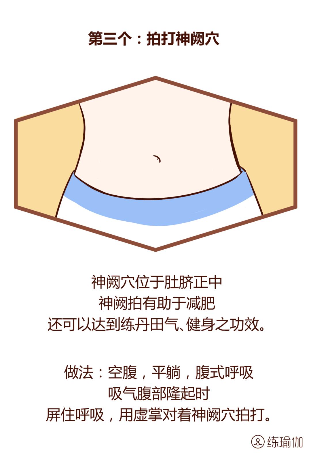 """肚子有个""""开关"""", 睡前敲一敲  , 躺着就能瘦到掉裤子_豆子"""