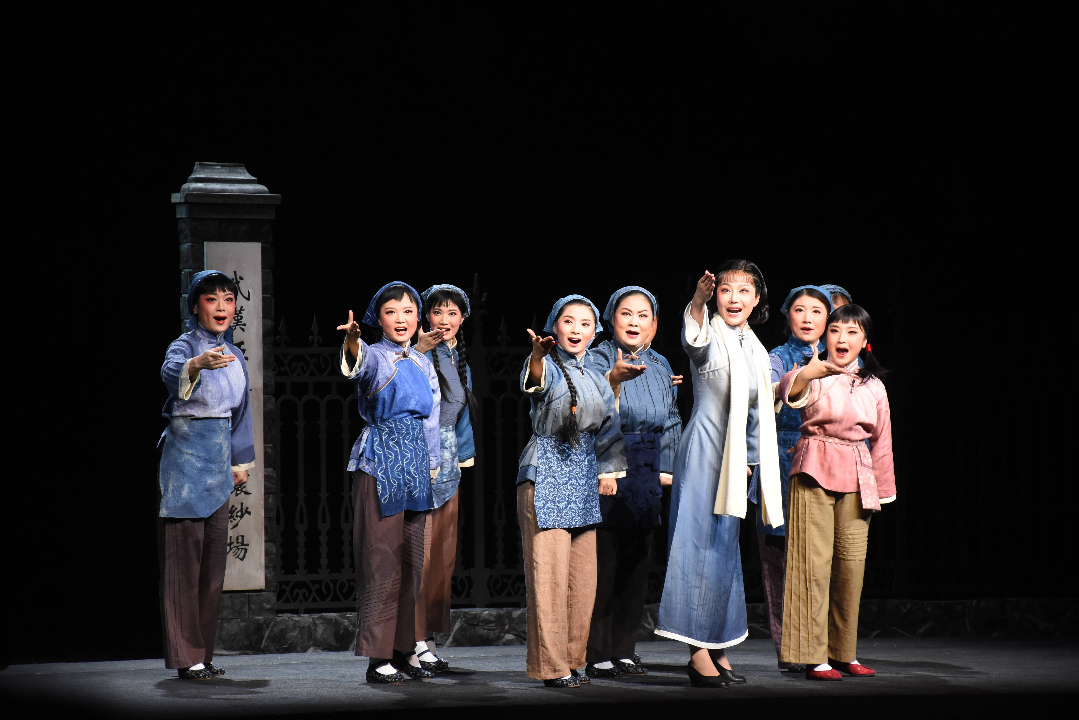湖南省京剧保护传承中心创排革命现代京剧《向警予》