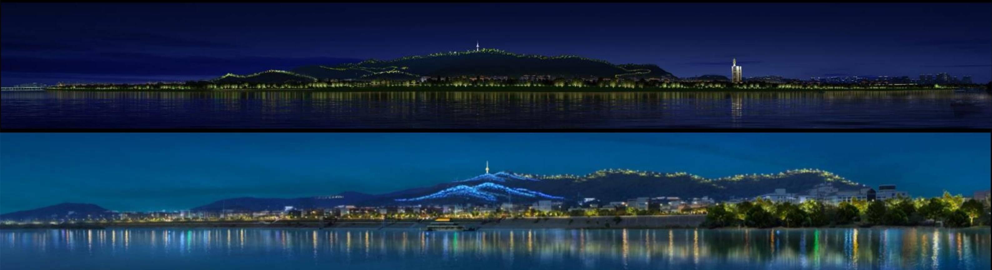 """夜长沙将更好看,长沙将实施""""一江两岸""""城市照明提质"""