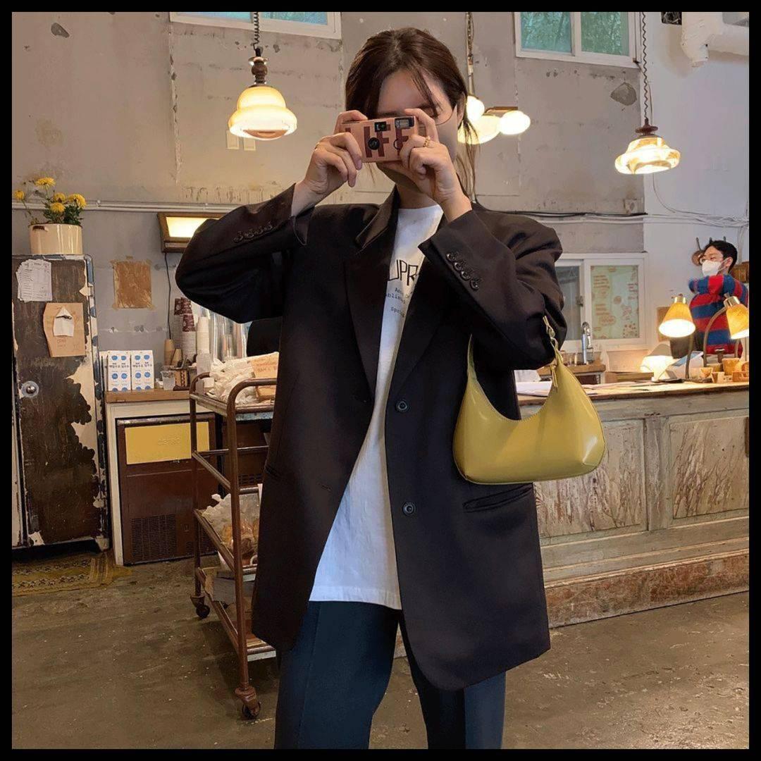 为什么韩国女生穿西装这么好看?