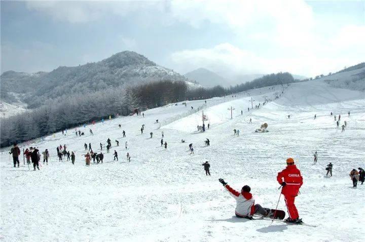 神农架滑雪季12月5日正式开启