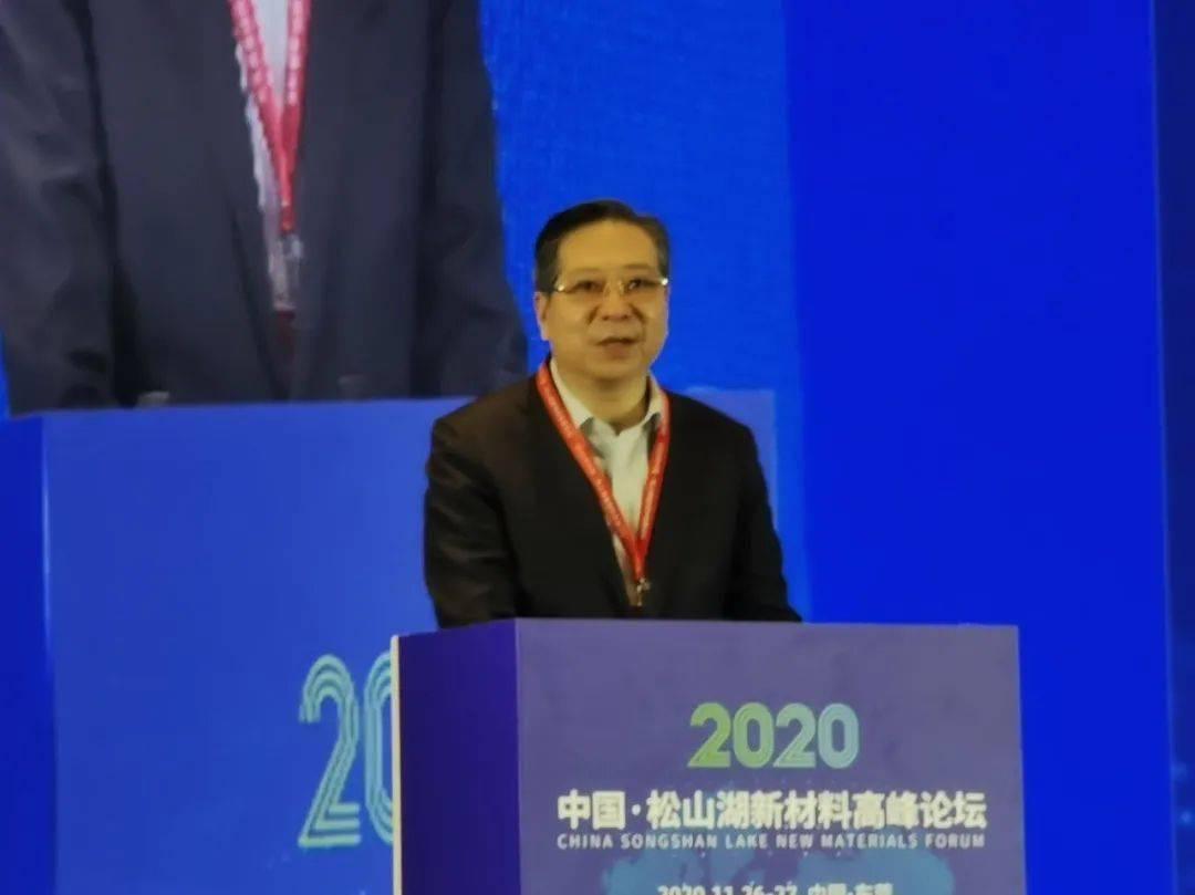 白涛:加大投资新材料 掌握制造业未来