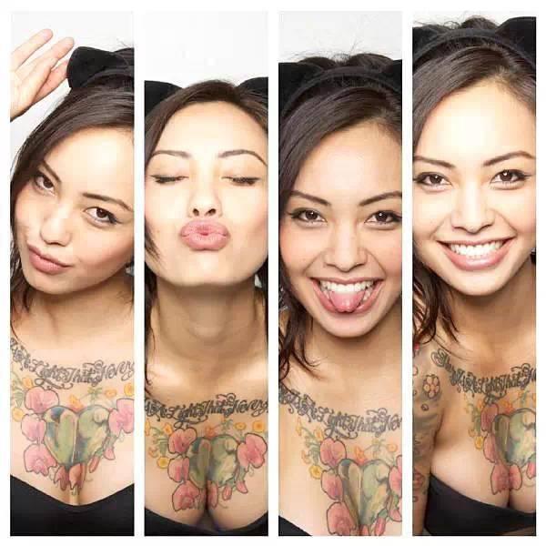 她纹身亮眼、性感身材,健身让女人的身体美翻天!