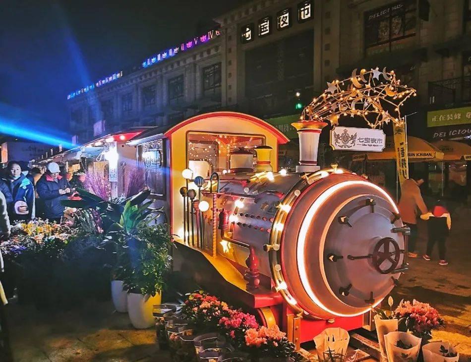 泰国网红夜市升级版!上海最大夜市试营业啦!足足18000㎡,从头吃到尾不重样!