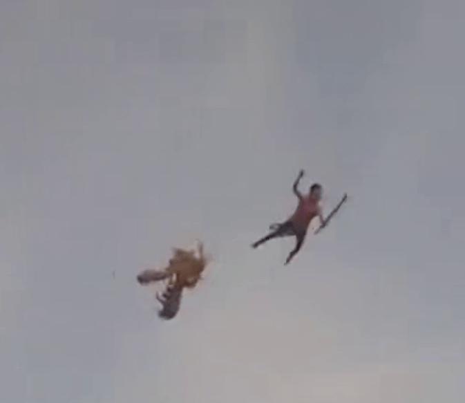 惊险!男孩被风筝带上天,目前情况如何?