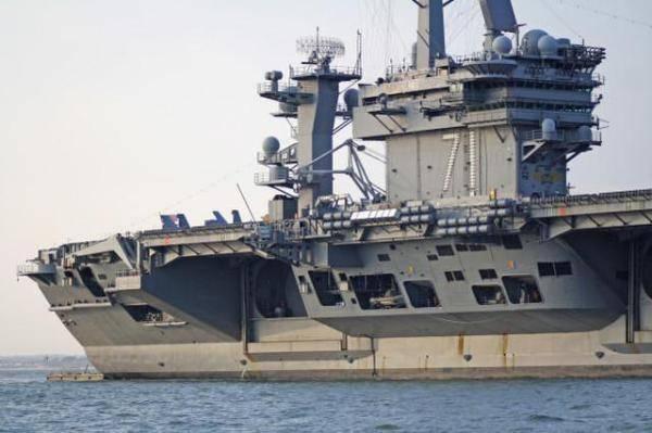 """这次真""""丢人""""了!美国海军罗斯福号航母上一名水手疑似落海失踪"""