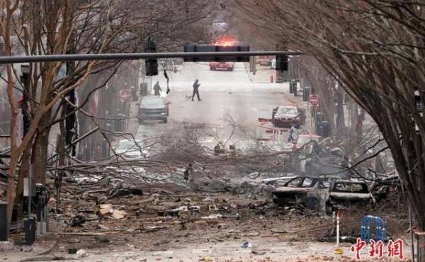 美警方称纳什维尔爆炸为蓄意行为,特朗普和拜登已听取简报