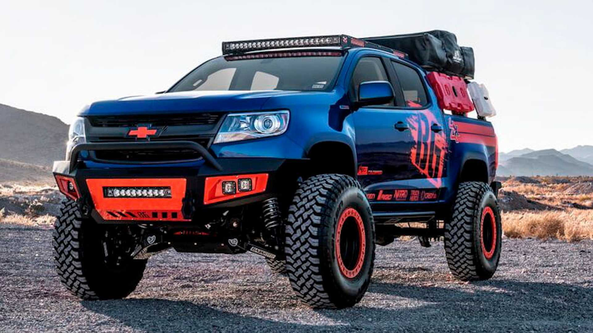 炸开雪佛兰库洛!6.8升柴油发动机,37英寸大轮胎