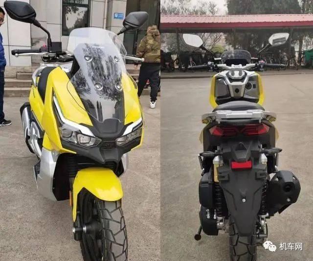 国产150ADV越野踏板,混合动力,原装前后摄像头...