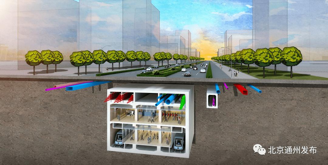 速看!副中心这条城市主干路主路全线通车!地下配地铁和综合管廊
