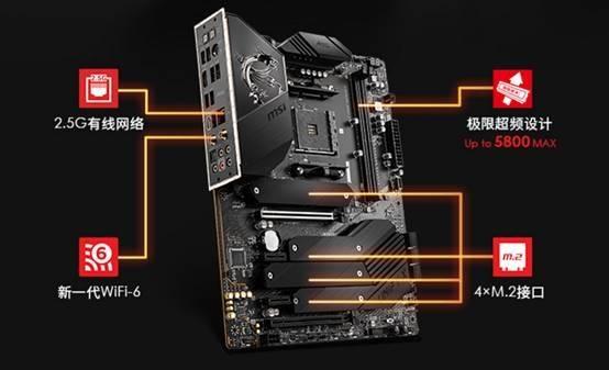 比X570还厉害!微星MEG B550 Unify绝技:3个PCIe 4.0x4 M.2接口