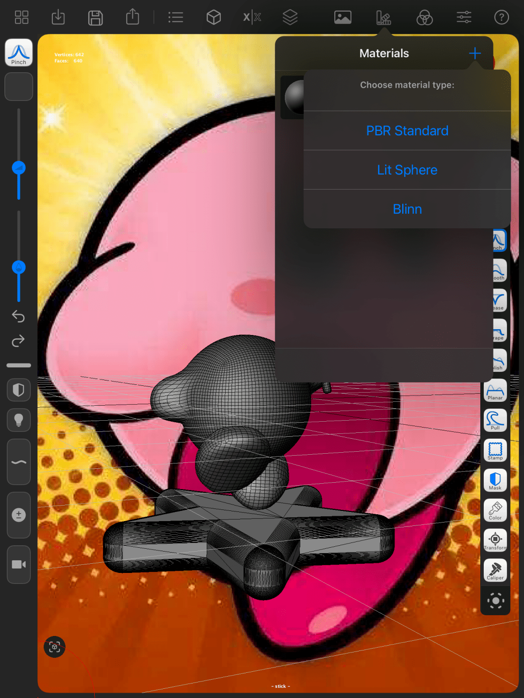 iPad 也能 3D 建模?轻松入门这款雕刻类 App,手把手教你捏只「卡比」  第24张