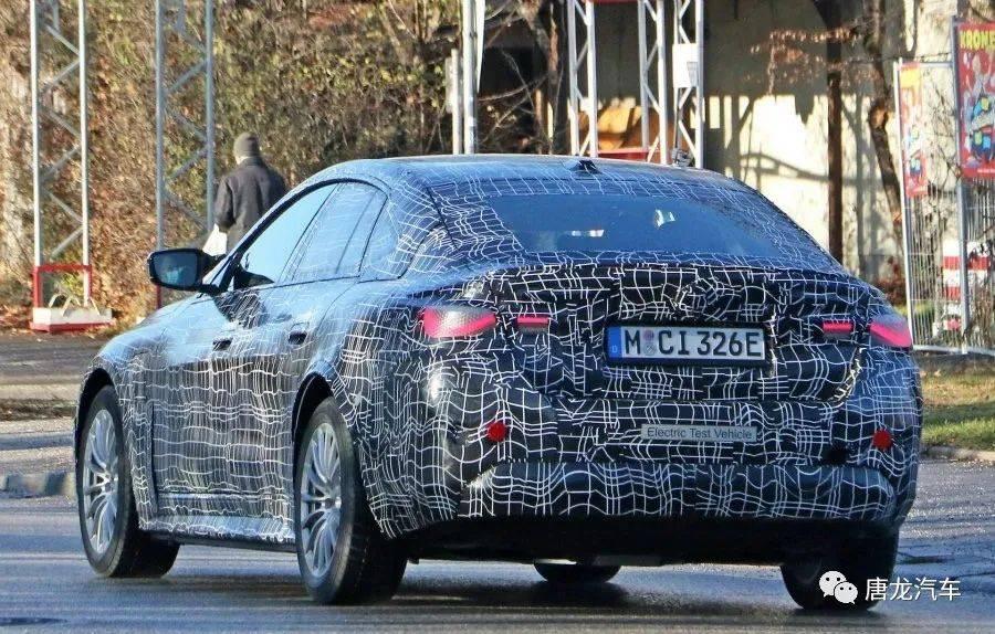 【首款纯电M系?】疑似BMW i4 M首度伪装现身_Markus