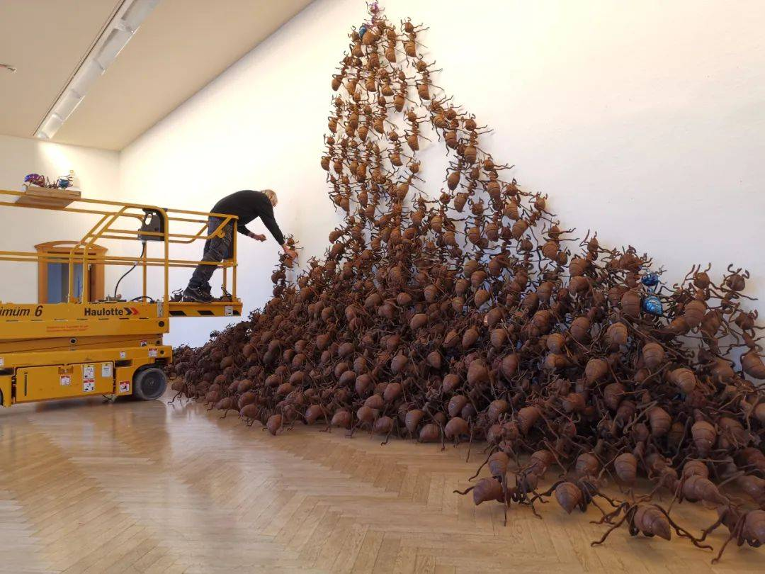 陈志光德国首次大型装置个展《神奇空间》_蚂蚁