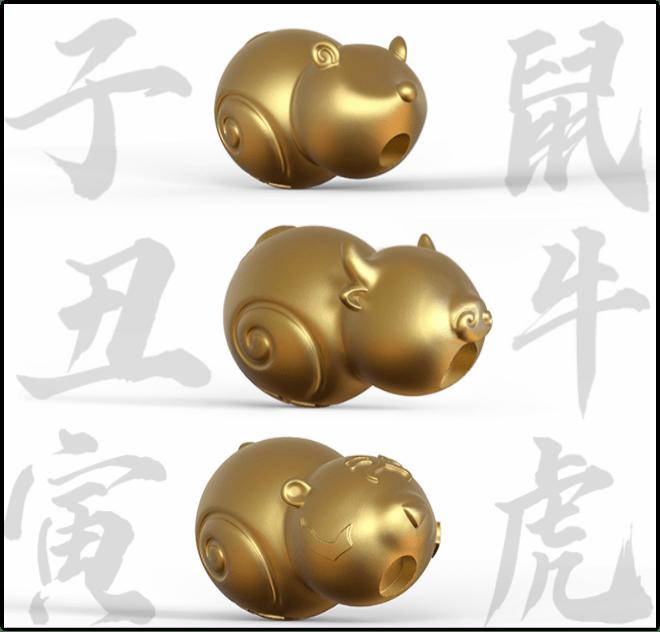 """新年好礼!寓意满满的12生肖宝葫芦,""""腕""""住吉祥好彩头"""
