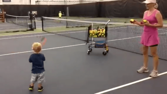 想让儿童对网球感兴趣?这些方法建议收藏(上篇)13张图!  第1张