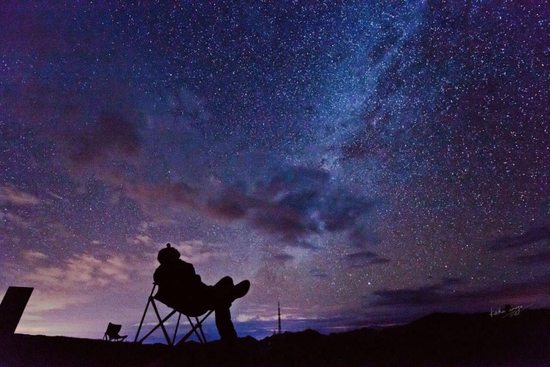 我不在轿顶山就在去轿顶山的路上,赴一场星空盛宴