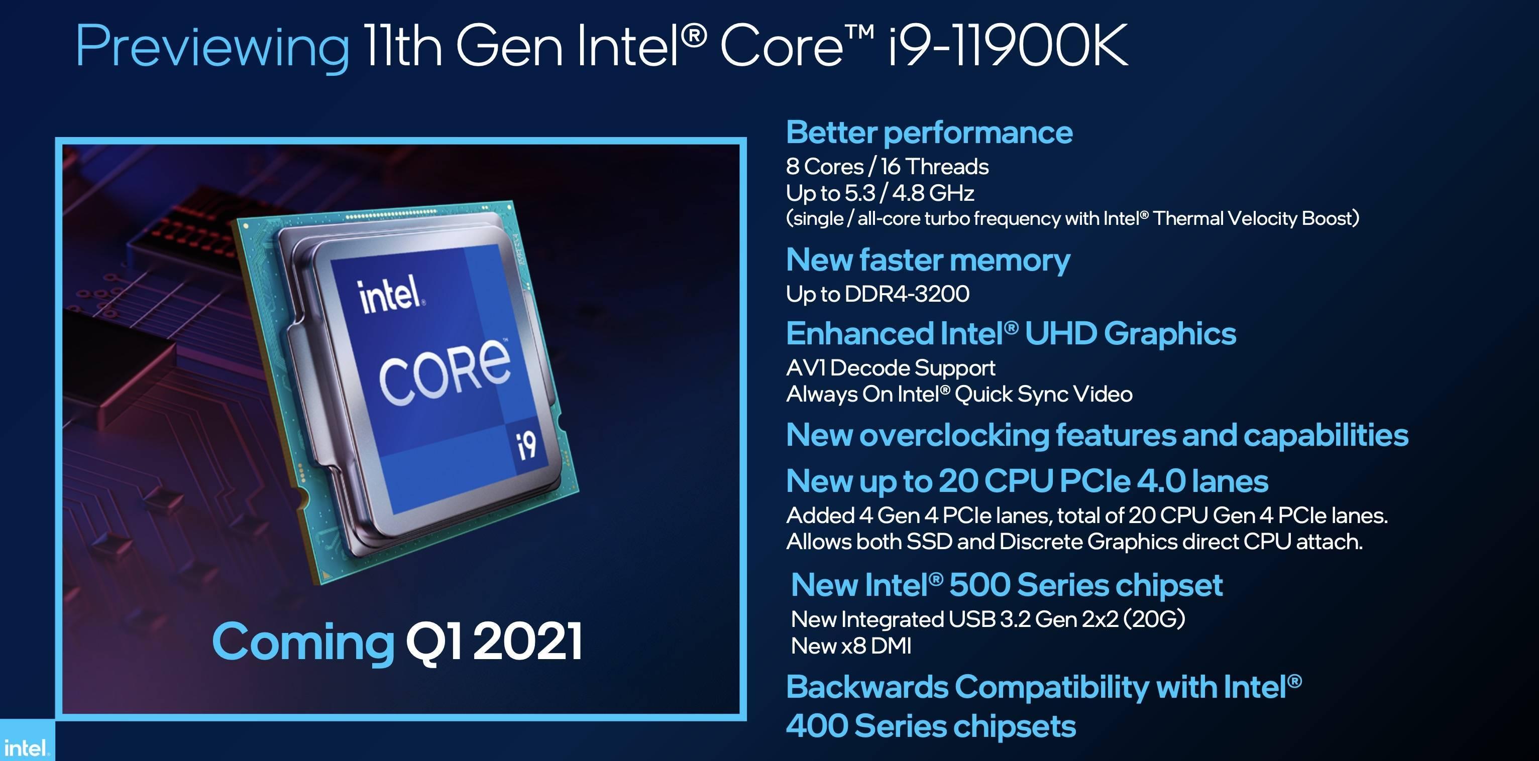 英特尔连发四款处理器,还预告了一波 X86 大升级