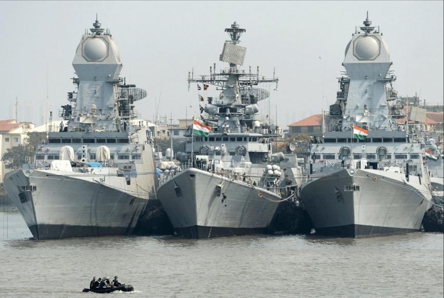 印度在全境海岸线附近举行军事演习,印国防部:规模空前