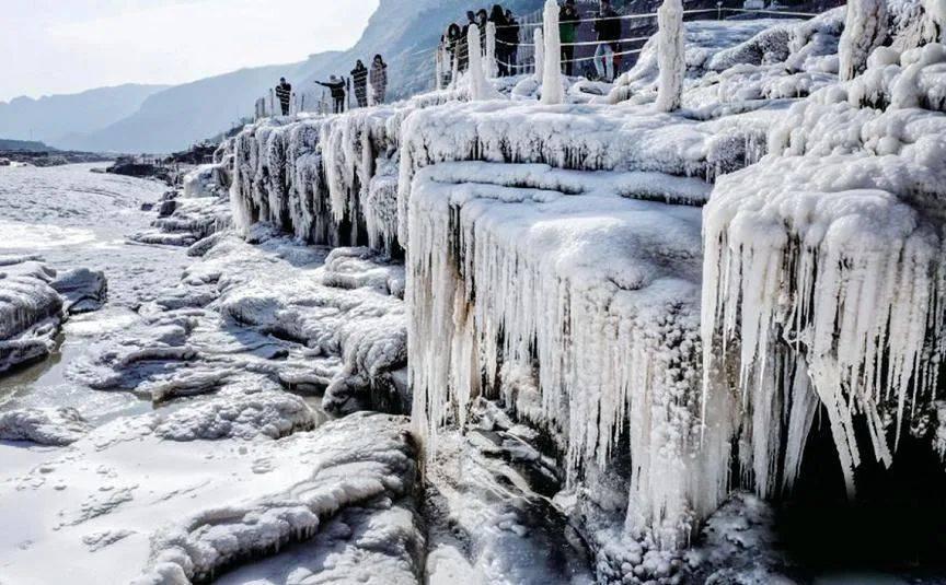 壮观!灵动!冬天专属!山西的冰瀑,绝美!  第6张