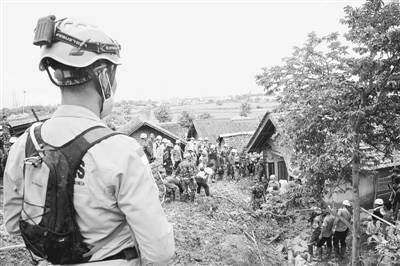 印尼山体滑坡 已致十三人罹难