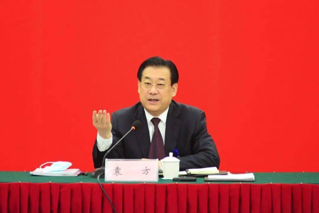 袁方参加当涂县代表团审议《政府工作报告》时指出