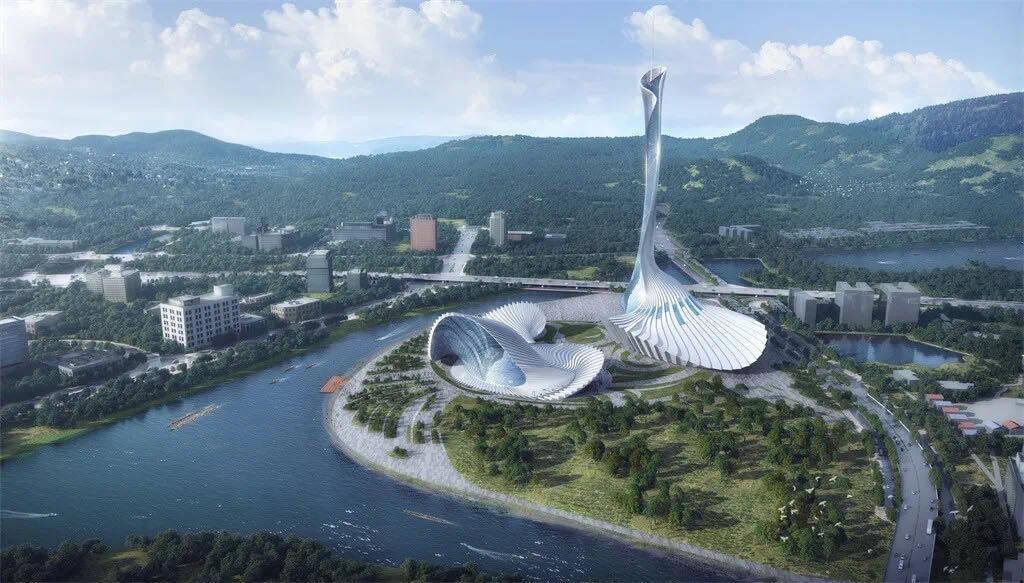 """广佛超级城市将添新地标!顺德观光塔设计方案""""亮相"""""""